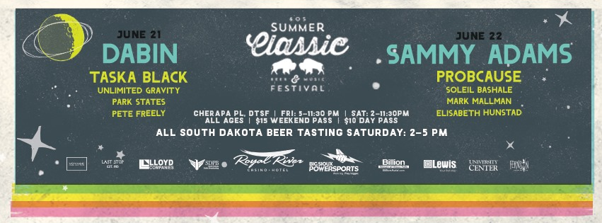 10th Annual 605 Summer Classic Lineup Announced!