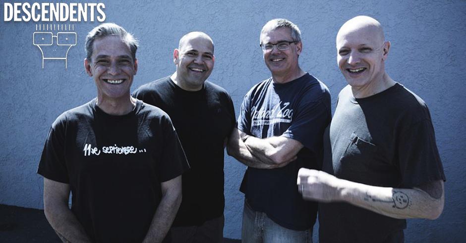 Descendents members: Karl Alvarez, Bill Stevenson, Milo Aukerman, Stephen Egerton