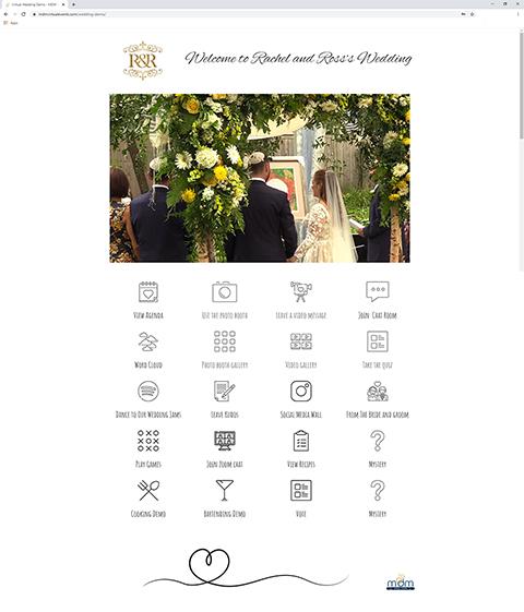 MDM Virtual Wedding Platform