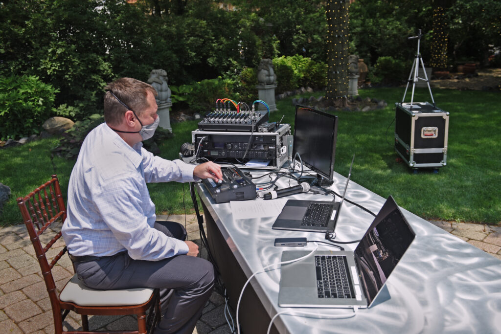 Chicago Wedding Live Streaming Equipment