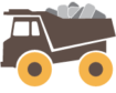 Truck with tires