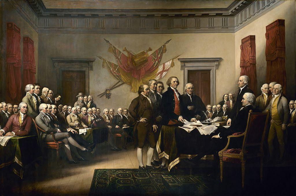 DeclarationIndependence-Trumbull