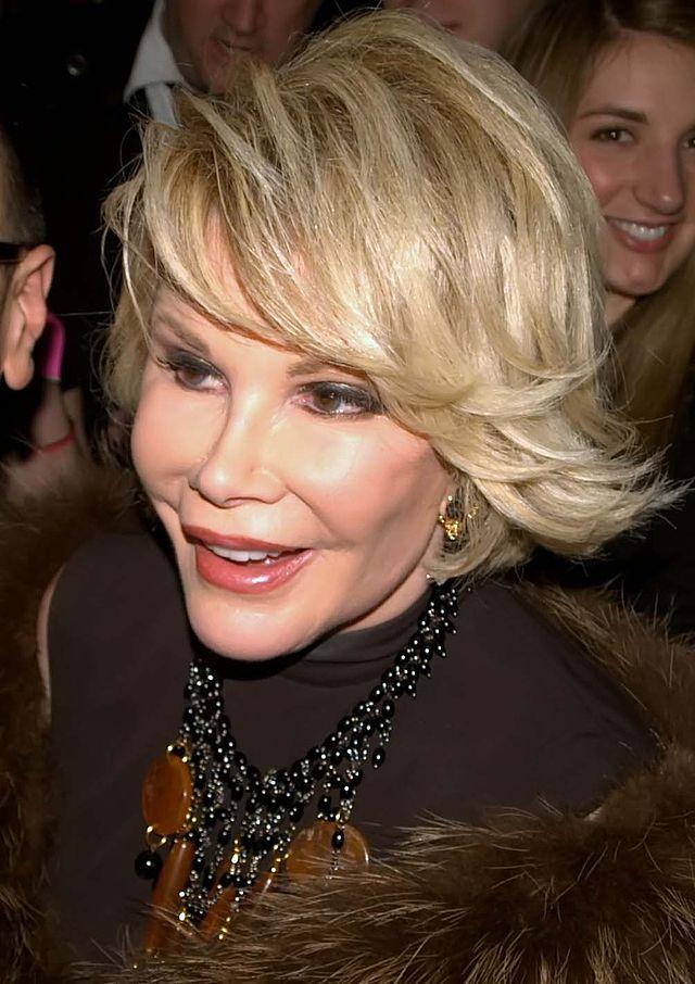 Joan Rivers in 2010, via Wikipedia