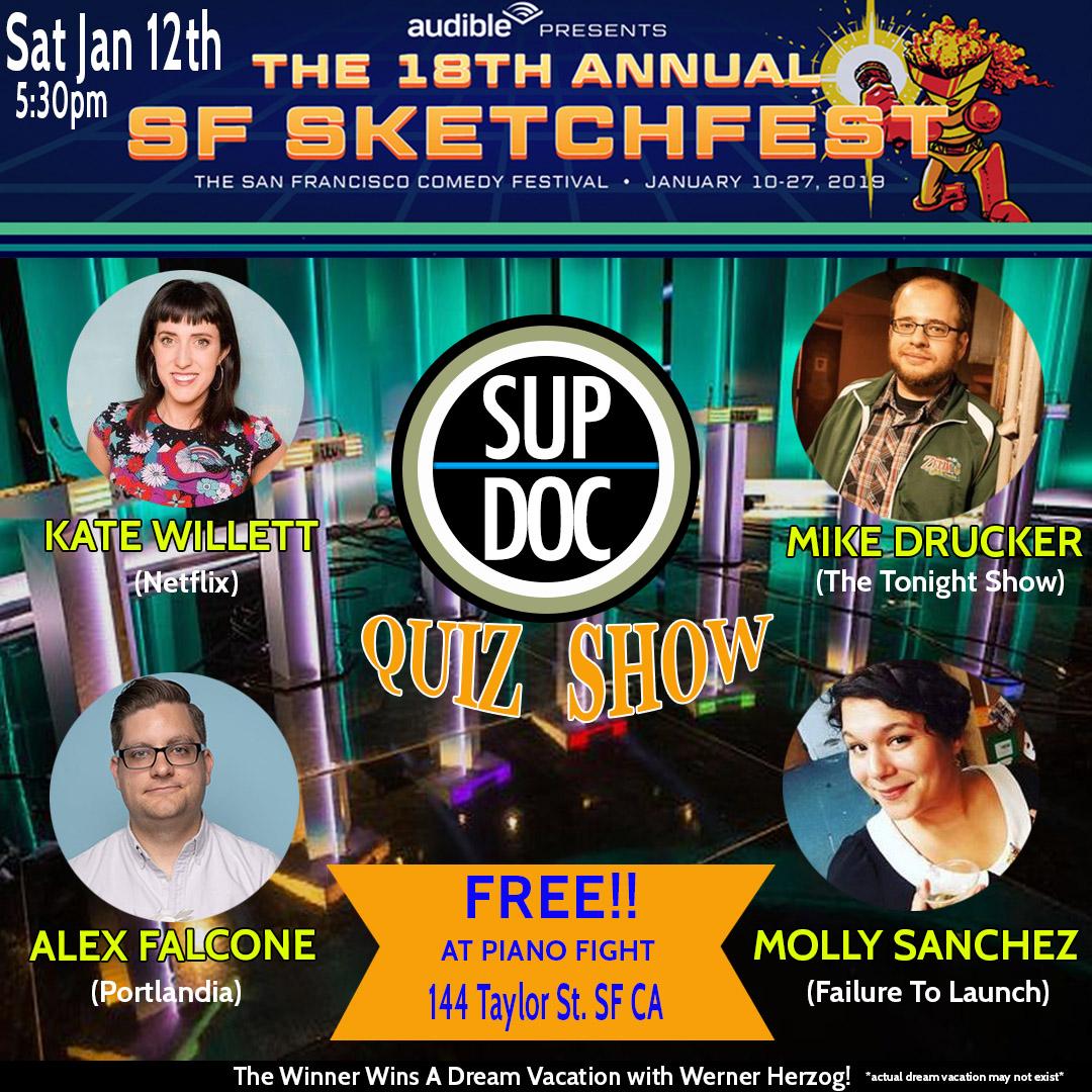 Sup Doc Podcast Documentary Quiz Show