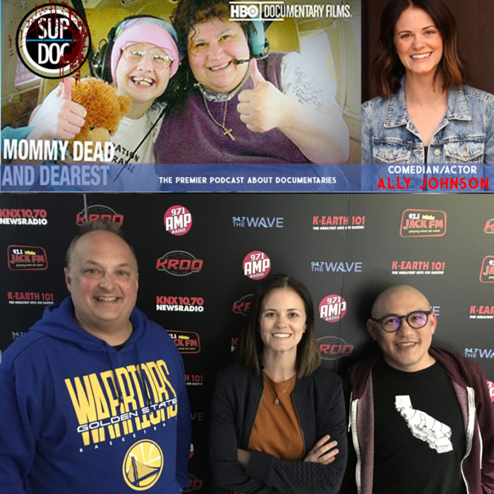 Sup Doc Ep 115 Mommy Dead and Dearest with comedian/actor Ally Johnson