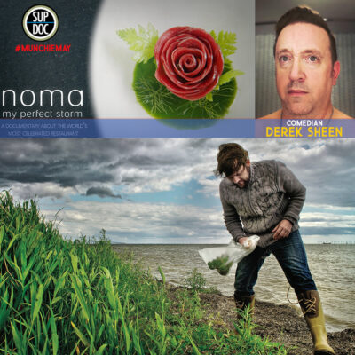 Ep 142 Noma with comedian Derek Sheen