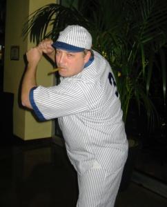Paco as Babe Ruth