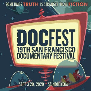 promotional image for the SF Docfest
