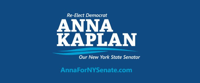 Small business groups endorse Senator Anna Kaplan for Re-Election