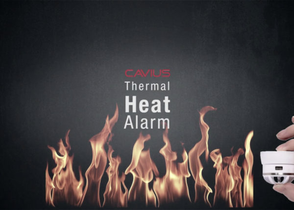 Cavius Thermal Heat Alarm