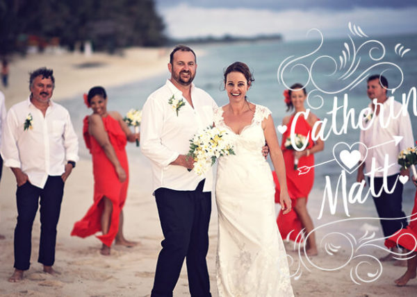 Rarotonga Wedding