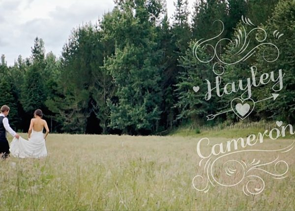 Wedding Video Hayley and Cameron