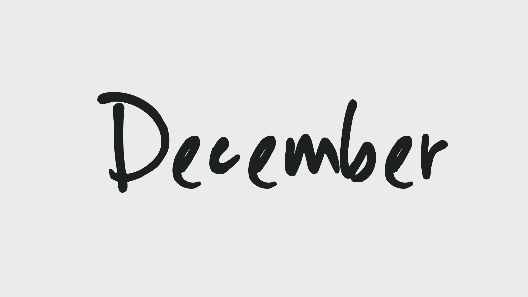 State of Mind December is the month of Magic Forever Chic by Meg