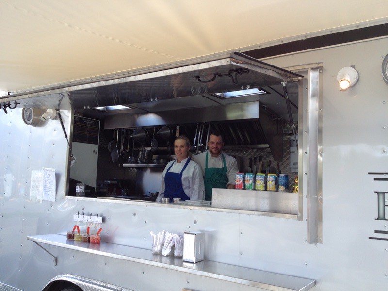 food truck window