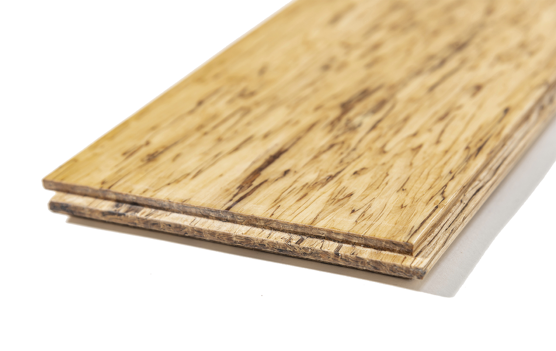 Close up of an unstained raw HempWood board.