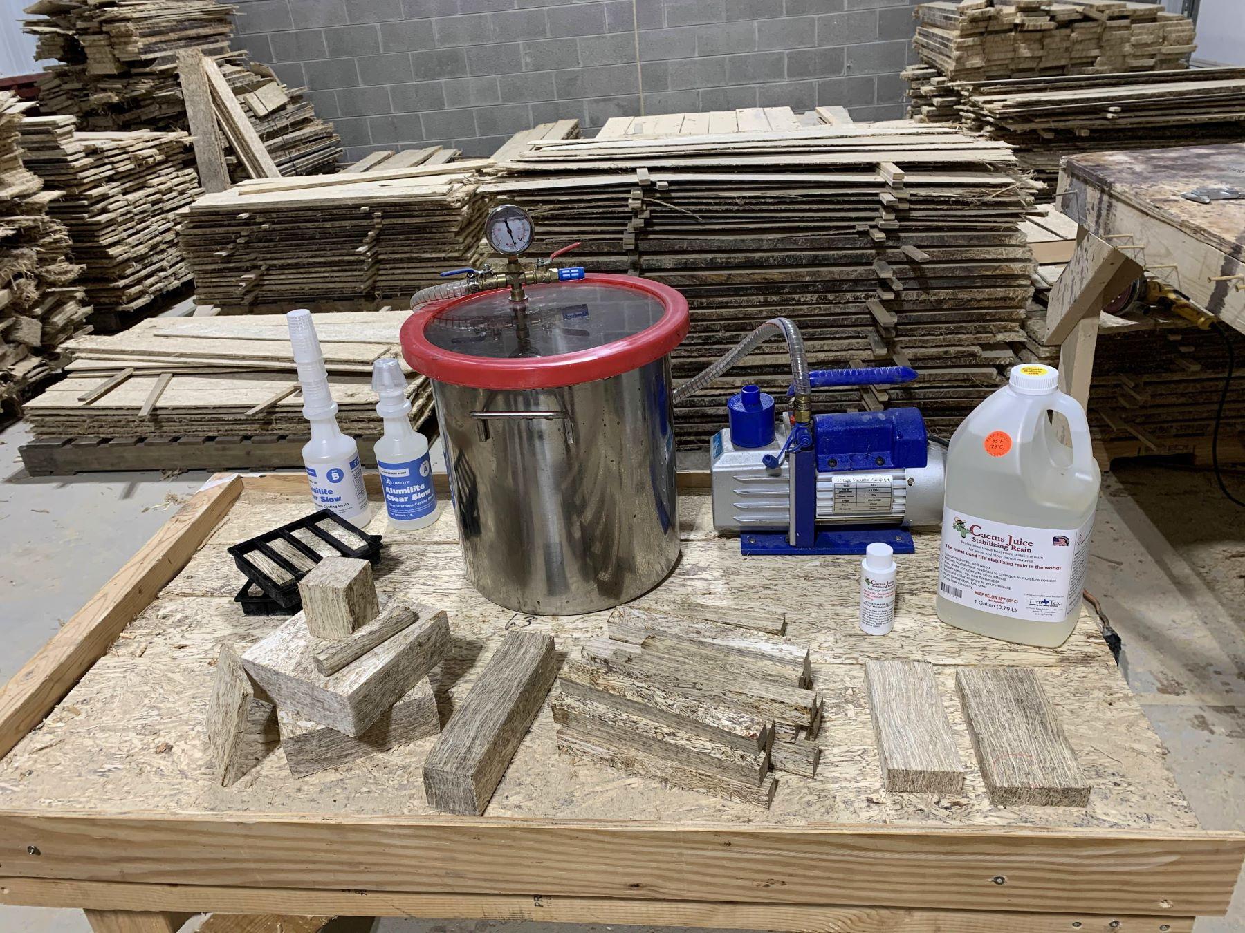 wood turning materials