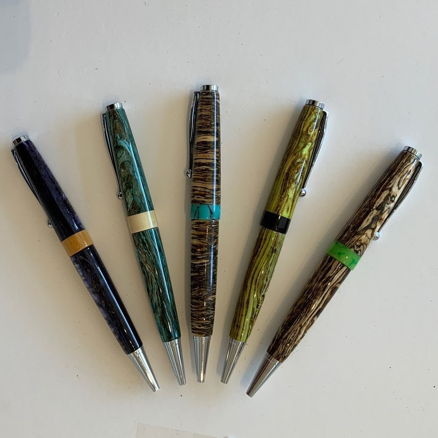 hemp pen blanks