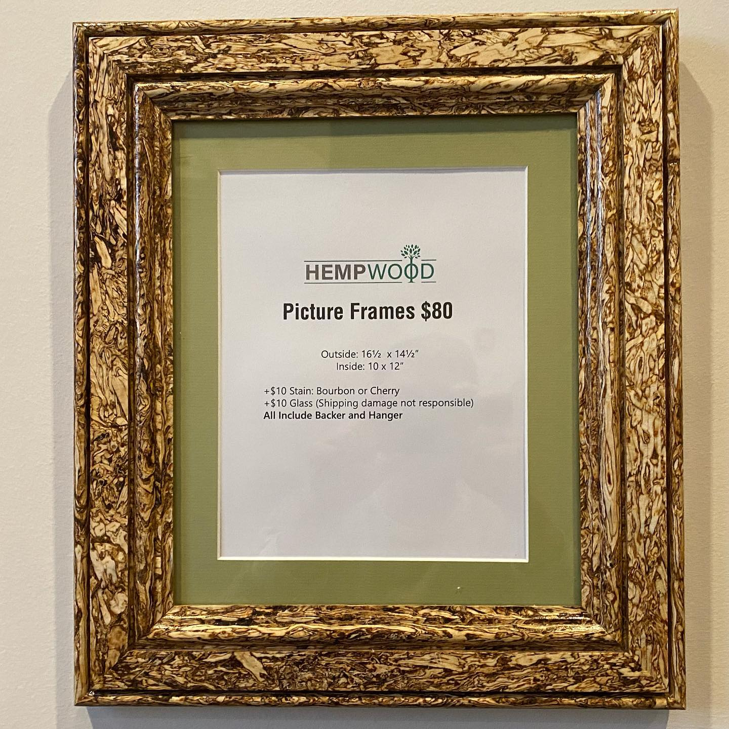 eco-friendly picture frame