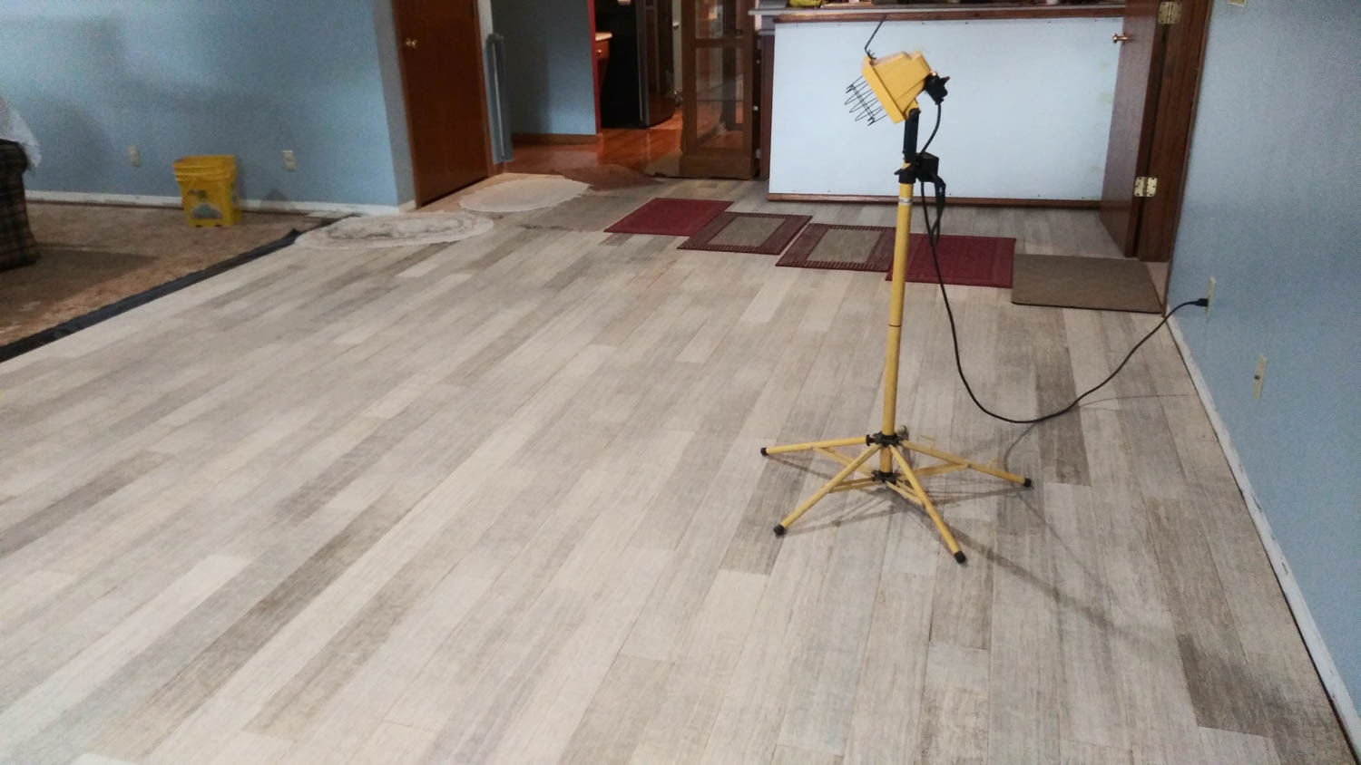 Hemp Flooring Light
