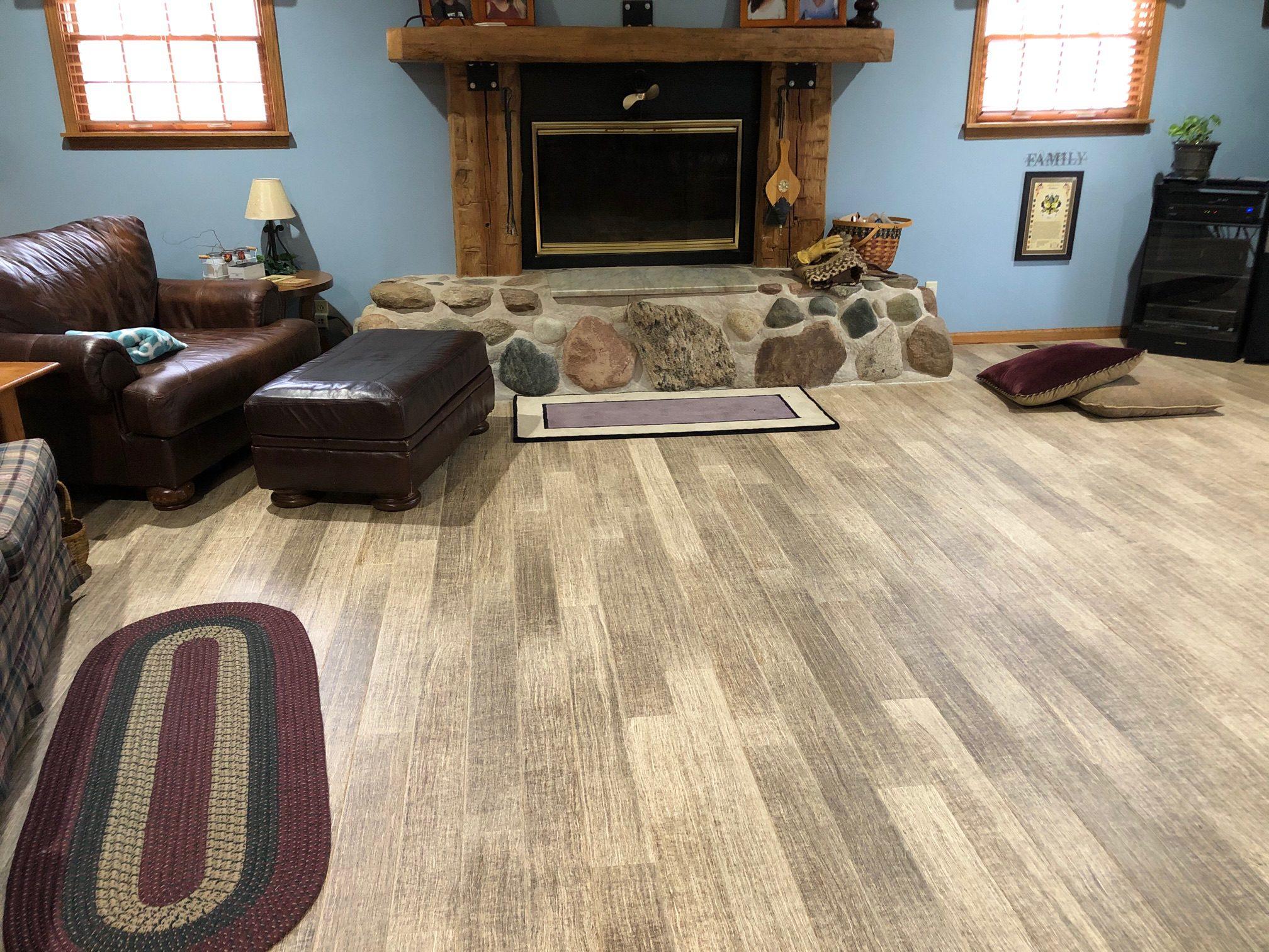 Hemp Flooring Full Room