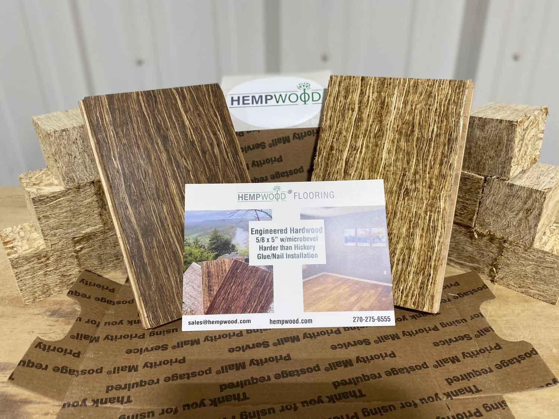 HempWood Media Flooring Sample