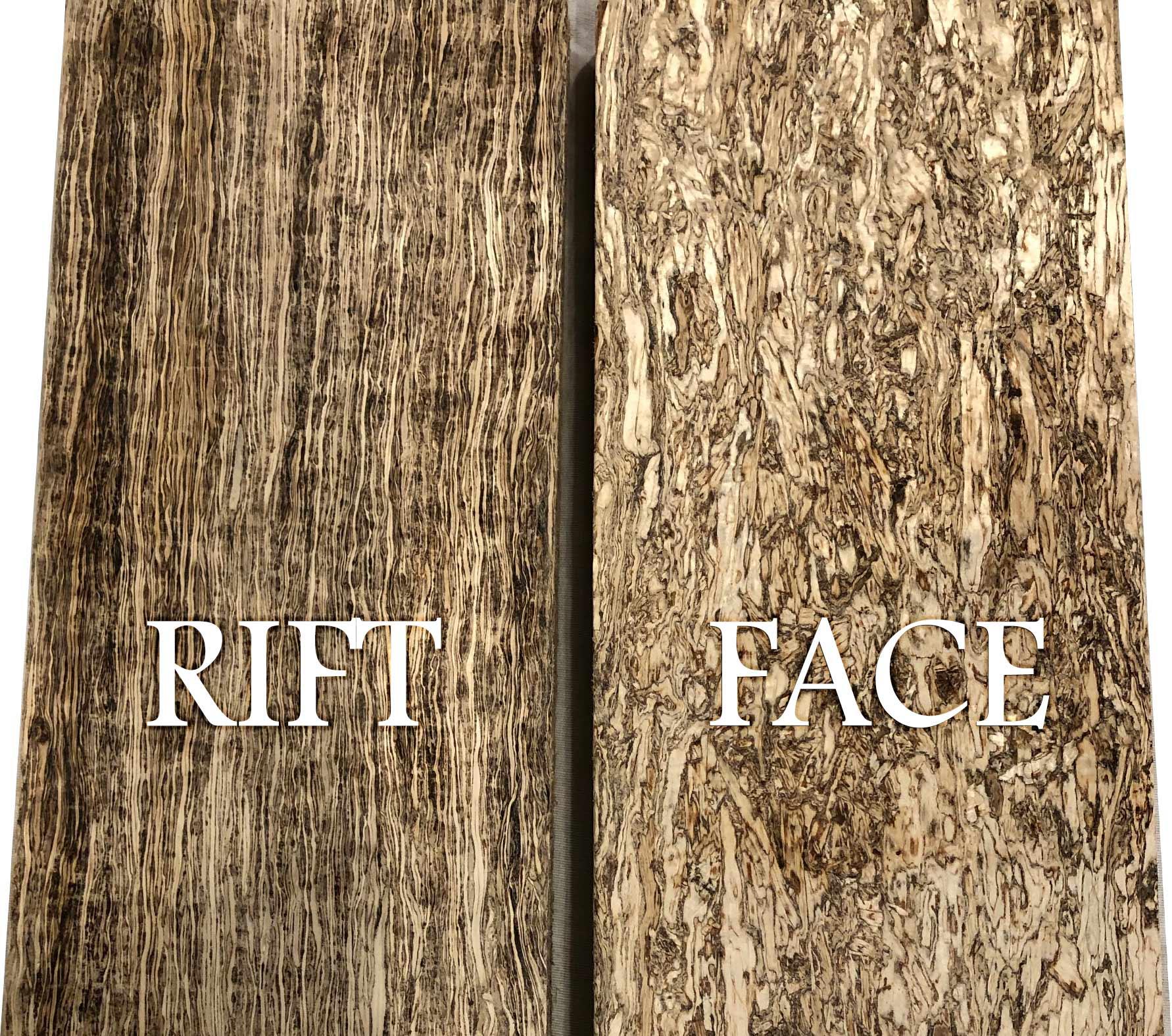 Rift vs. Face Sawn
