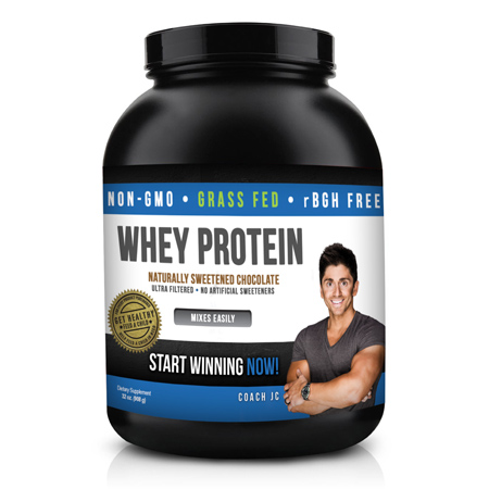 Coach JC – Whey Protein – Chocolate