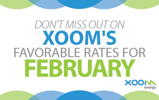 February XOOM Favorable Rates