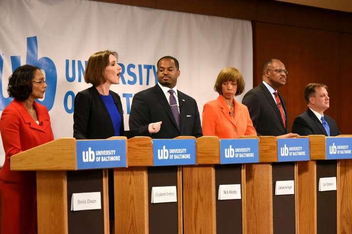 Candidates at Baltimore Mayoral Forum 2016