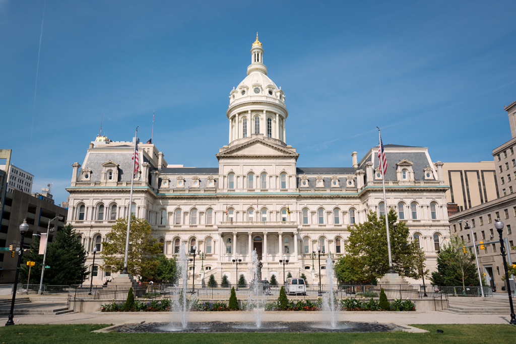 Program Evaluation-Image of Baltimore City Hall