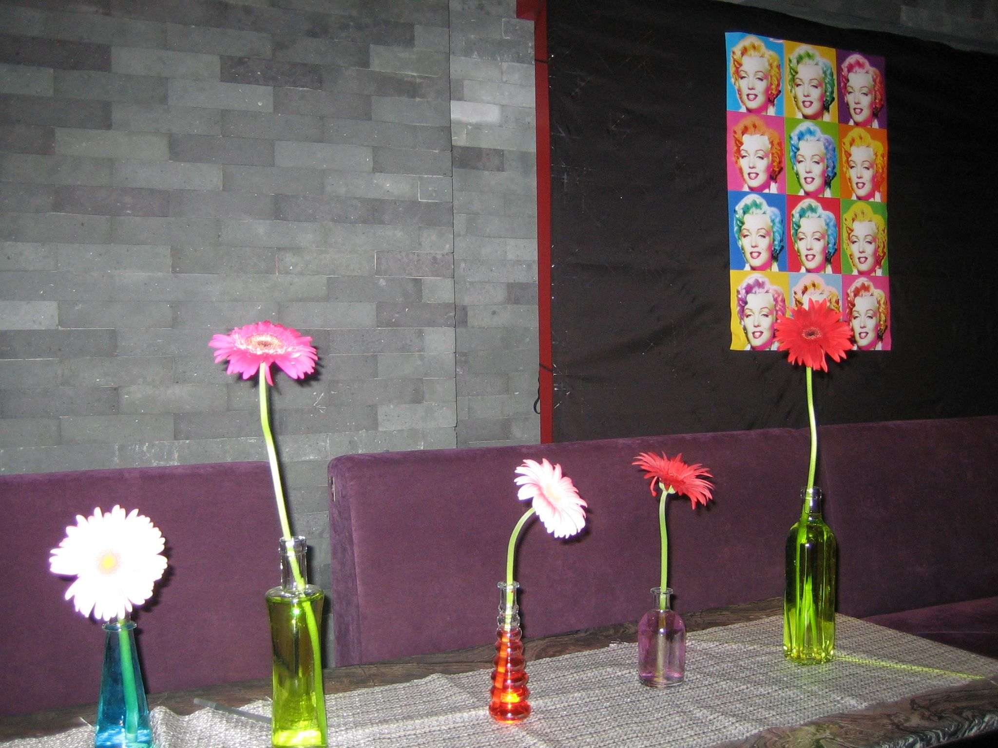 poster and vases