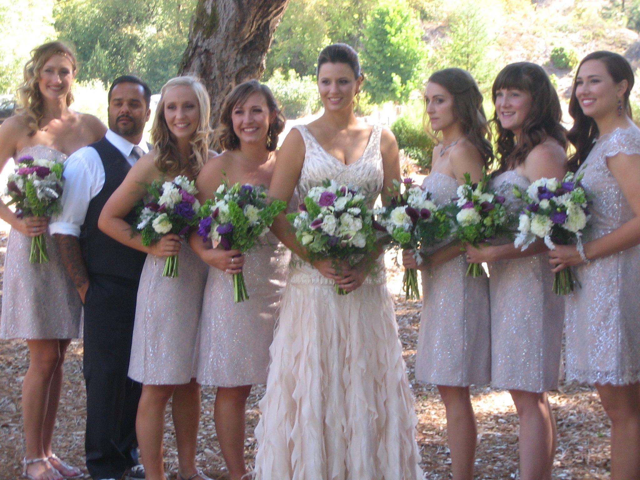 bridesmaids lineup