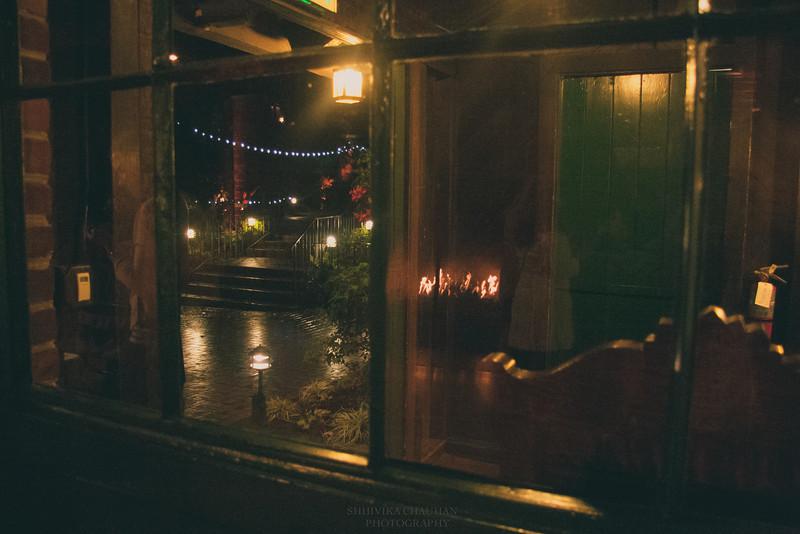 Lights outside