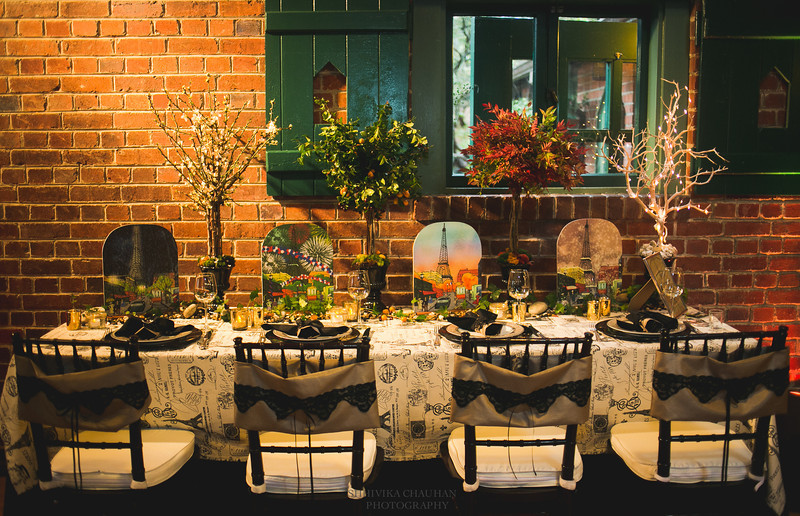 Table decor Jutta