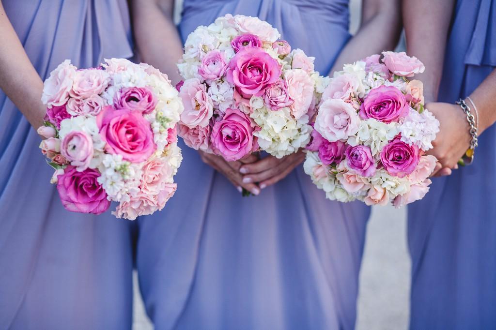 Shaina's bridesmaids bouquets