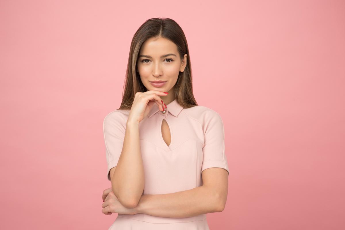 women-pink-bg