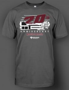 DVH 20th shirt