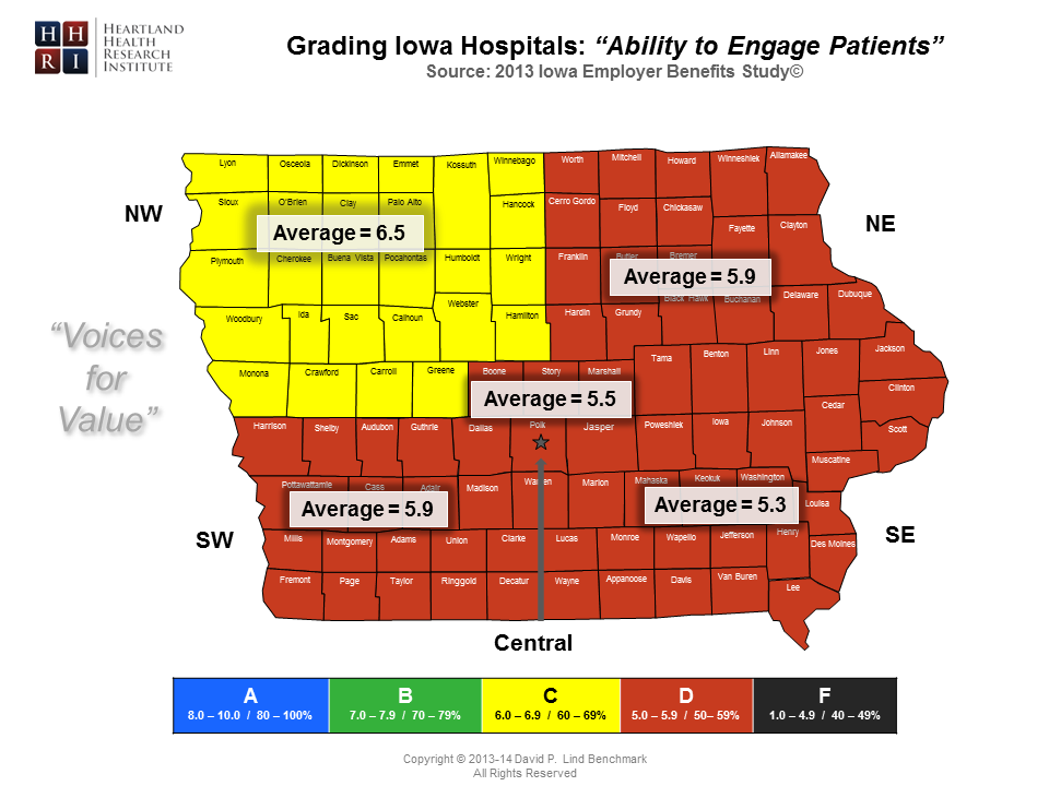 Regional - Ability to Engage Patients Map-Master