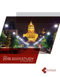 2016 Iowa Employer Benefits Study