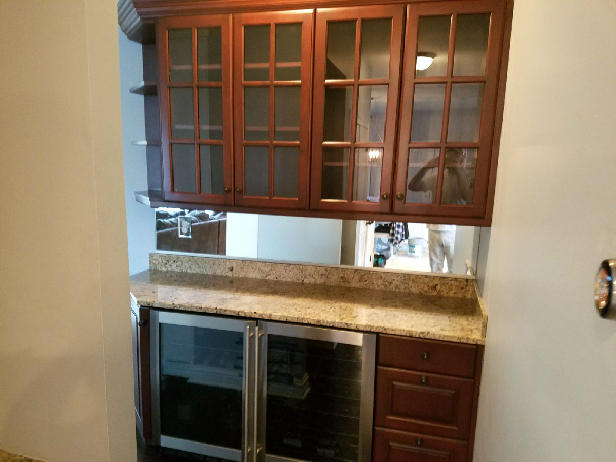 Bar Cabinets Before