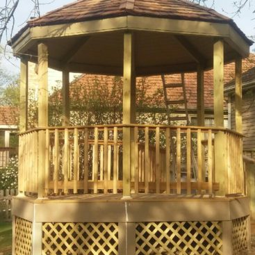 Deck Gazebo After