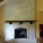 Fireplace Whitewash After