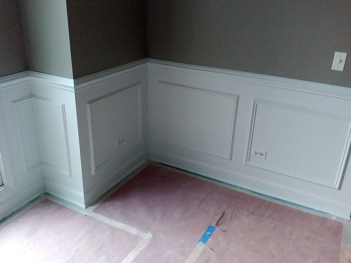 Wainscoting After