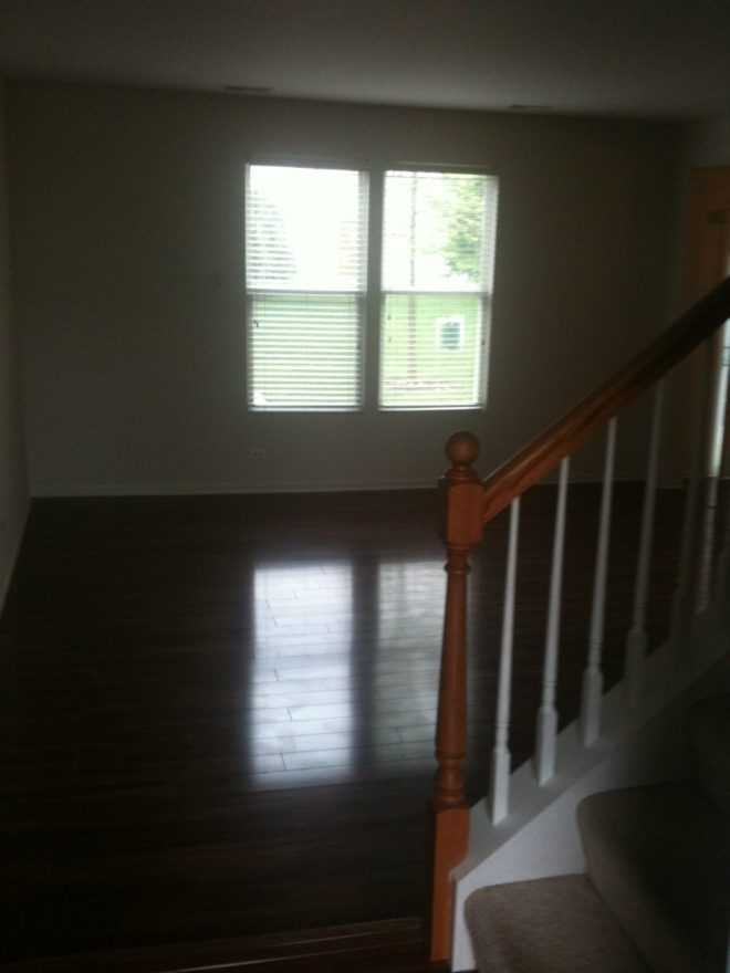 Laminate Townhouse floors After