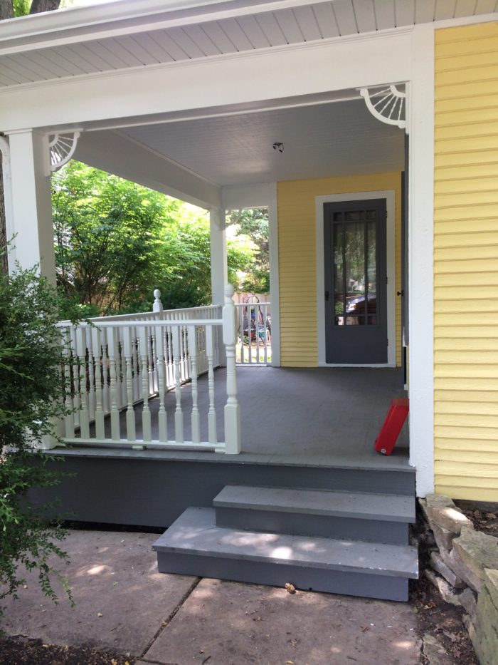 Victorian Porch After