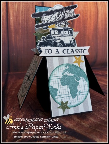 Card in a Box May card making class Stampin' Up! Ann's PaperWorks Ann Lewis Stampin' Up! (Aus)