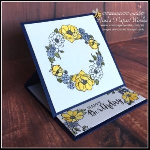 Timeless Love and Rose Wonder Stamp sets, Watercolor technique, Stampin' Up! Ann's PaperWorks Ann Lewis Stampin' Up! (Aus) card class