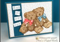 Baby Bear Stamp Set Stampin' Up! 2016-17 Catalogue Kick-Off Party Ann's PaperWorks  Ann Lewis  Stampin' Up! (Aus) online store 24/7