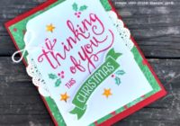 Time of Year, Christmas in July Series, Ann's PaperWorks  Ann Lewis  Stampin' Up! (Aus) online store 24/7