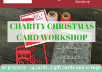 Crafty Paper Bees Christmas Charity Card Workshop Ann's PaperWorks Ann Lewis Stampin' Up! (Aus)  online store 24/7